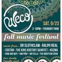 WeCo Fall Music Festival