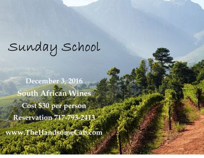 Sunday School - South African Wines