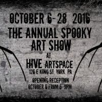 The Annual Spooky Art Show at HIVE artspace