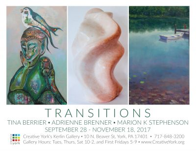 TRANSITIONS: TINA BERRIER, ADRIENNE BRENNER, MARIO...