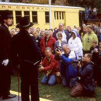 President Lincoln on the Hanover Junction Railroad Experience with No. 17