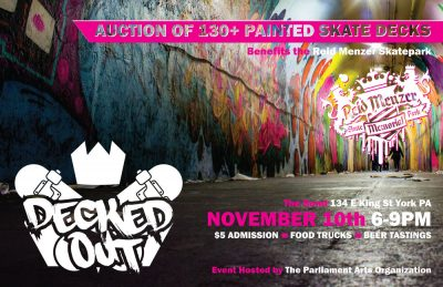 Decked Out - Deck Show and Art Auction