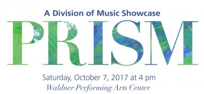 PRISM Concert: A Division of Music Showcase