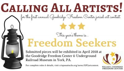 First Annual Freedom Seeker Juried Art Competition...