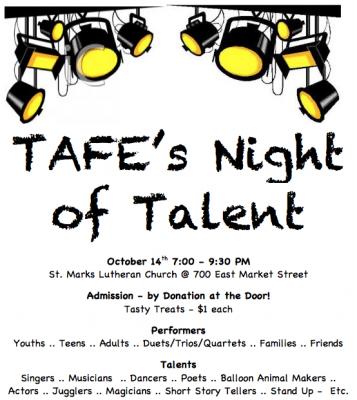 TAFE's Night of Talent
