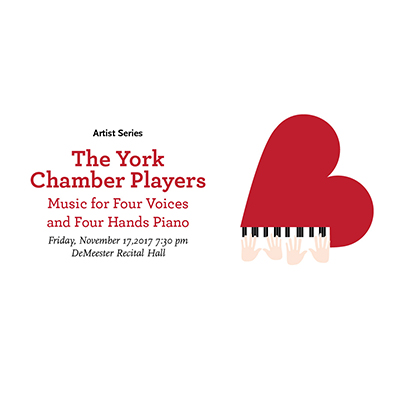 The Chamber Players: Music for Four Voices and Four Hands Piano