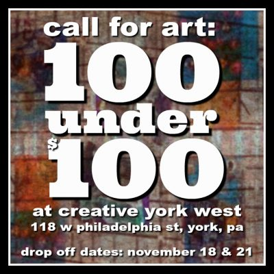 Call for Works: 100 under $100