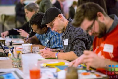 Creative York's 2017 Monster Drawing Rally Event