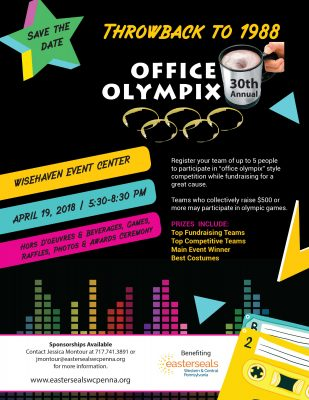 30th Annual Office Olympix - Throwback to 1988