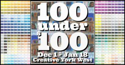 100 Under 100 Exhibit at Creative York West