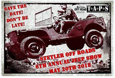 2018 6th Annual Stetler Jeep Show