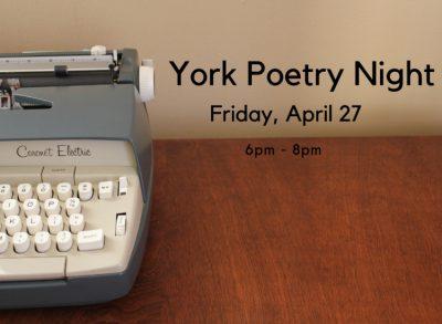 York Poetry Night