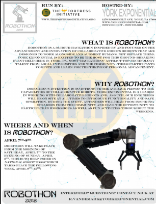 The Fortress Initiative's ROBOTHON 2018