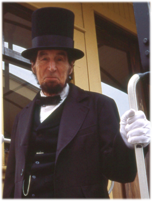 President Lincoln on the Hanover Junction Flyer