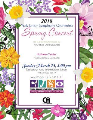 York Junior Symphony Orchestra 2018 Spring Concert