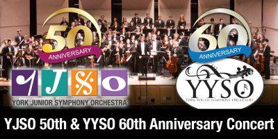 York Youth Symphony 60th Anniversary & York Junior Symphony 50th Anniversary Join Concert