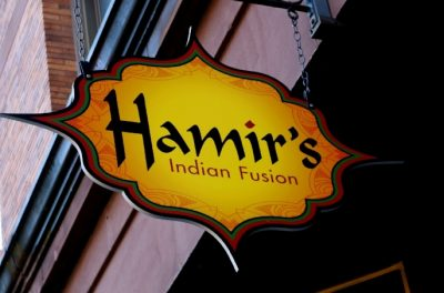 Dine at Hamir's for Logos Academy on GLY!