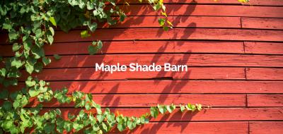 Breakfast at Maple Shade Barn
