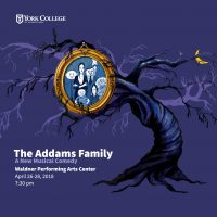 York College Spring Musical Production: The Addams Family