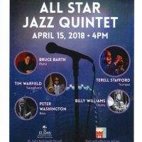 St. John's Concert Series - All Star Jazz Quintet