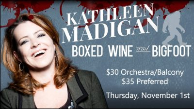 Kathleen Madigan - Boxed Wine & Bigfoot