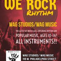 """""""We Rock: Rhythm!!"""" Class (Ages 10-14)"""