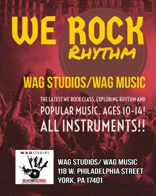 """We Rock: Rhythm!!"" Class (Ages 10-14)"