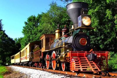 Lincoln Funeral Train to Glen Rock with No. 17