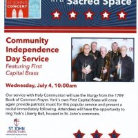 July 4th Worship Service & Patriotic Concert