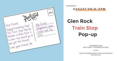 Glen Rock Train Stop Pop-Up Market