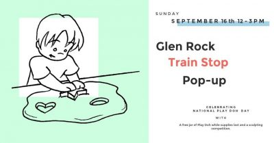 Glen Rock Train Stop Pop-up Market Closing Day