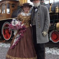 General and Mrs. Robert E. Lee on the Glen Rock Express