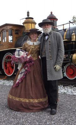 General and Mrs. Lee on the Hanover Junction Flyer...