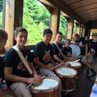 First Capital Fife and Drum Ensemble on the Hanover Junction Flyer
