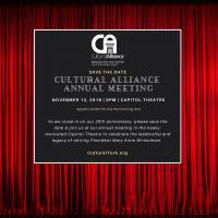 Cultural Alliance Annual Meeting