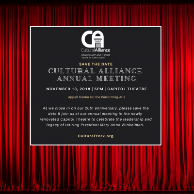 Cultural Alliance Annual Meeting