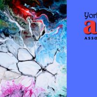 Exploding Fluid Acrylics with Maryel Henderson