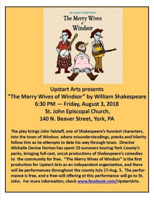 """The Merry Wives of Windsor"" Shakespearean Comedy"