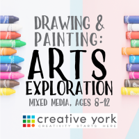 Arts Exploration: Mixed Media for ages 8-12