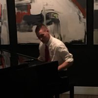 Justin Adams on Piano