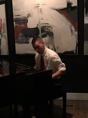 Justin Adams on Piano