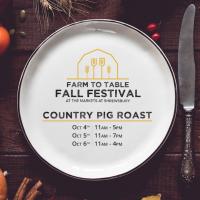 Farm-to-Table Fall Festival: Country Pig Roast