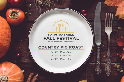 Farm-to-Table Fall Festival: Country Pig Roast