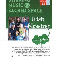 St. John's Concert Series - Irish Blessing