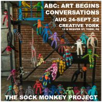 ABC: Art Begins Conversations - The Sock Monkey Project