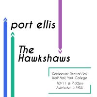 York Music Group Presents: Port Ellis and The Hawkshaws