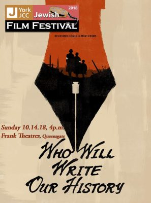 Jewish Film Festival Series - Who Will Write Our H...