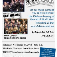 Penn State Glee Club and York County Senior Honors Choir present: CELEBRATE PEACE