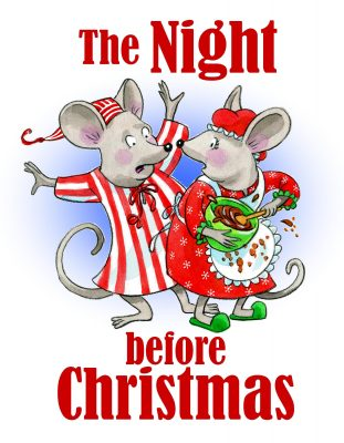 Two Auditions: The Night Before Christmas and TAFE...