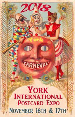 2018 York International Postcard Expo